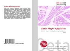 Borítókép a  Victor Meyer Apparatus - hoz