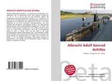 Обложка Albrecht Adolf Konrad Achilles
