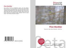 Pine Warbler kitap kapağı
