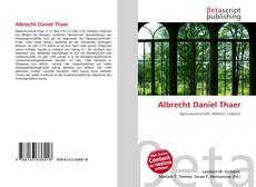 Buchcover von Albrecht Daniel Thaer