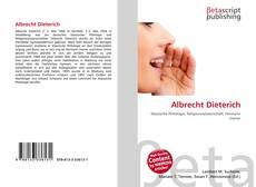 Albrecht Dieterich kitap kapağı