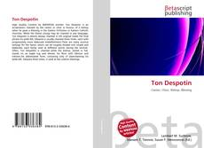 Bookcover of Ton Despotin