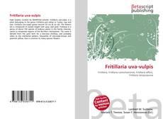 Capa do livro de Fritillaria uva-vulpis