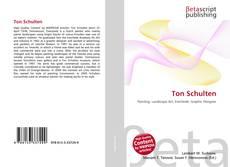 Обложка Ton Schulten