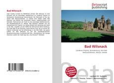 Bookcover of Bad Wilsnack