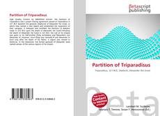 Bookcover of Partition of Triparadisus
