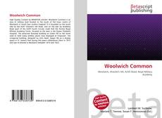 Woolwich Common kitap kapağı