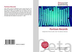 Bookcover of Partisan Records