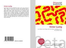 Обложка Victor Lustig