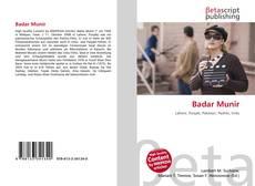 Badar Munir kitap kapağı