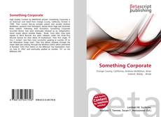 Buchcover von Something Corporate