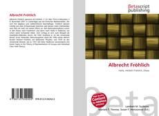 Обложка Albrecht Fröhlich