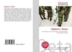 Portada del libro de Robert L. Perea