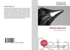 Bookcover of Desert Sparrow
