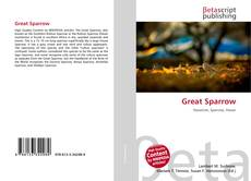 Bookcover of Great Sparrow