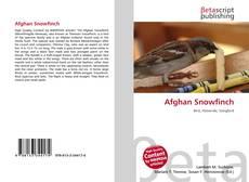 Обложка Afghan Snowfinch
