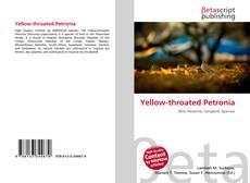 Yellow-throated Petronia kitap kapağı