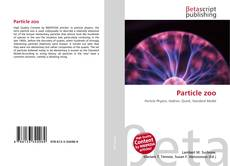 Bookcover of Particle zoo