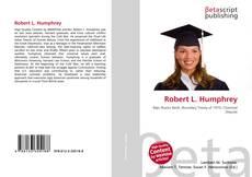 Bookcover of Robert L. Humphrey