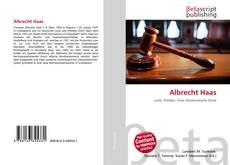 Bookcover of Albrecht Haas