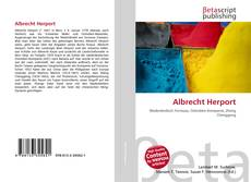 Buchcover von Albrecht Herport