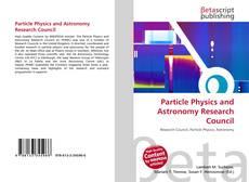 Capa do livro de Particle Physics and Astronomy Research Council
