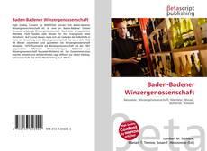 Capa do livro de Baden-Badener Winzergenossenschaft
