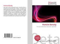 Bookcover of Particle Density