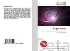 Ralph Neves kitap kapağı