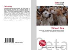 Bookcover of Canaan Dog