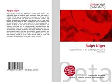 Bookcover of Ralph Niger