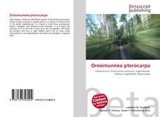 Buchcover von Oreomunnea pterocarpa