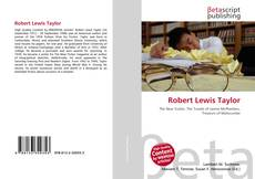 Bookcover of Robert Lewis Taylor