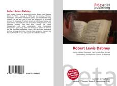 Bookcover of Robert Lewis Dabney