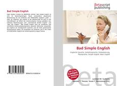 Bookcover of Bad Simple English