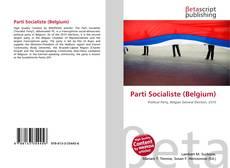 Обложка Parti Socialiste (Belgium)