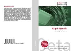 Copertina di Ralph Records