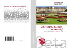 Copertina di Albrecht III. (Sachsen-Wittenberg)
