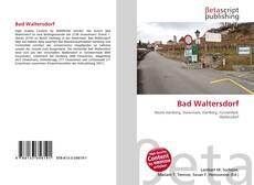 Buchcover von Bad Waltersdorf