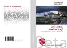 Capa do livro de Albrecht IV. (Mecklenburg)