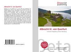 Portada del libro de Albrecht IV. von Querfurt