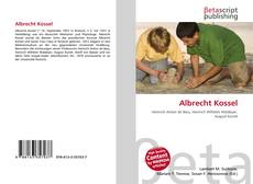 Обложка Albrecht Kossel