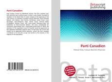 Bookcover of Parti Canadien