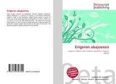 Обложка Erigeron abajoensis