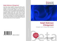 Couverture de Ralph Robinson (Clergyman)