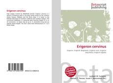 Bookcover of Erigeron cervinus