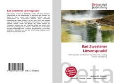 Portada del libro de Bad Zwestener Löwensprudel