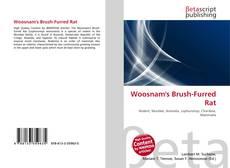 Bookcover of Woosnam's Brush-Furred Rat