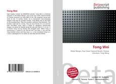 Buchcover von Tong Wei