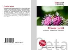 Portada del libro de Oriental Hornet